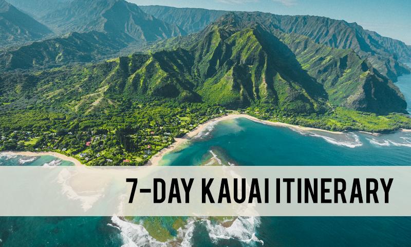 7 day Kauai itinerary