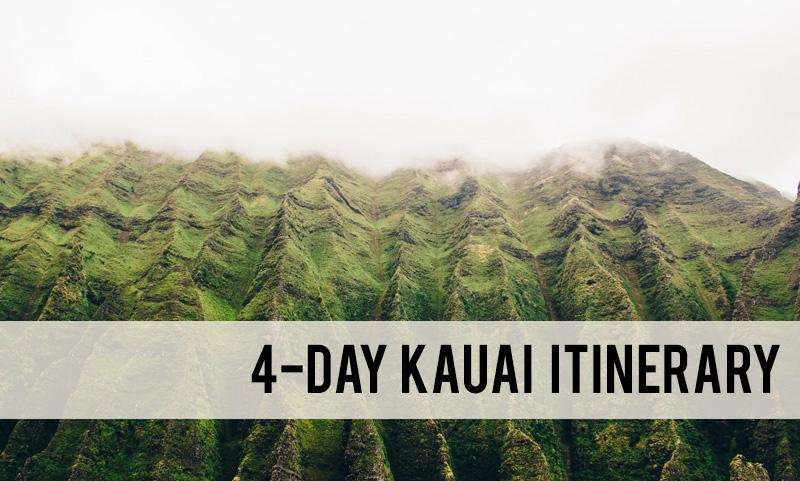 4-day Kauai itinerary