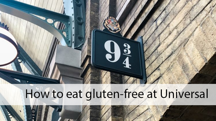 how to eat gluten-free at Universal