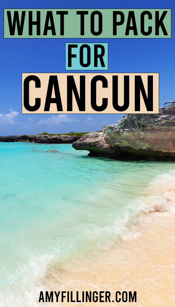 what to pack for Cancun