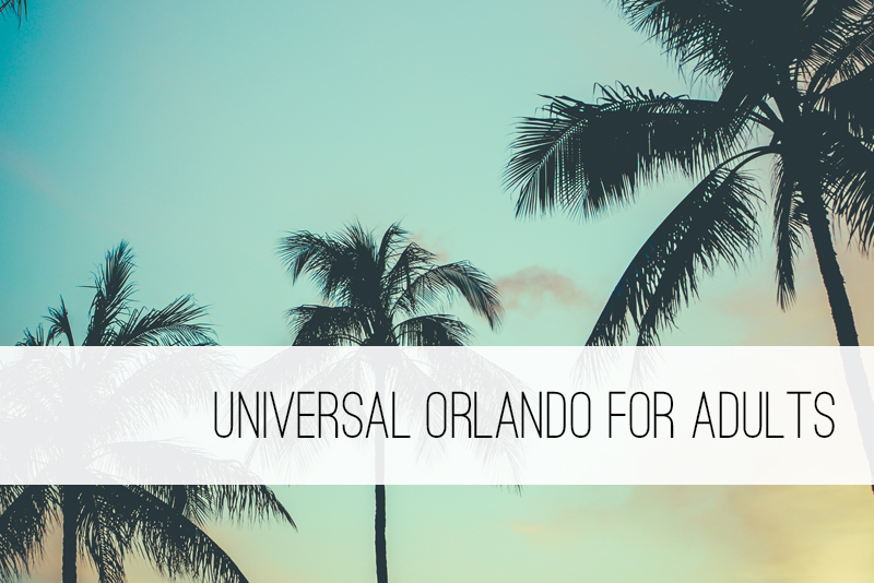 Universal studios for adults