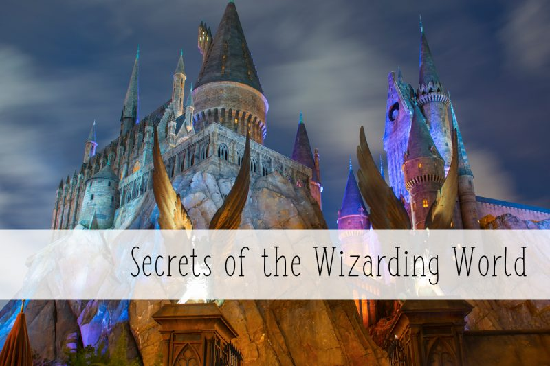 secrets of the wizarding world of harry potter