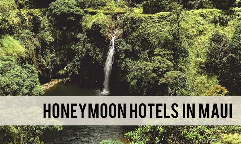 the best honeymoon hotels in Maui