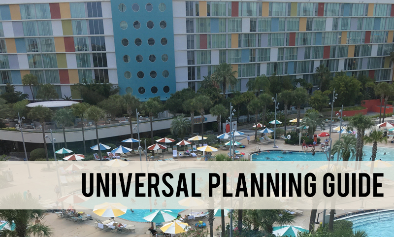 Universal Studios planning guide