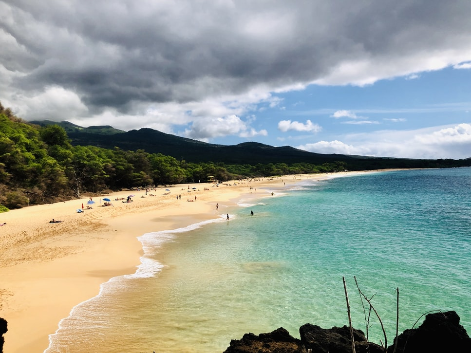how to find Little Beach in Maui
