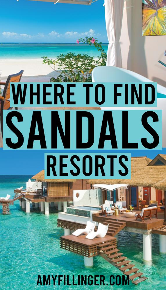 Sandals Resorts locations