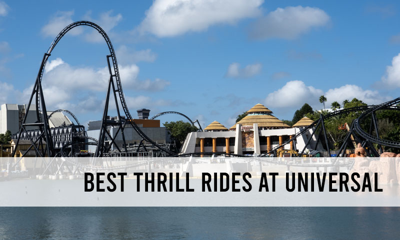 best thrill rides at Universal
