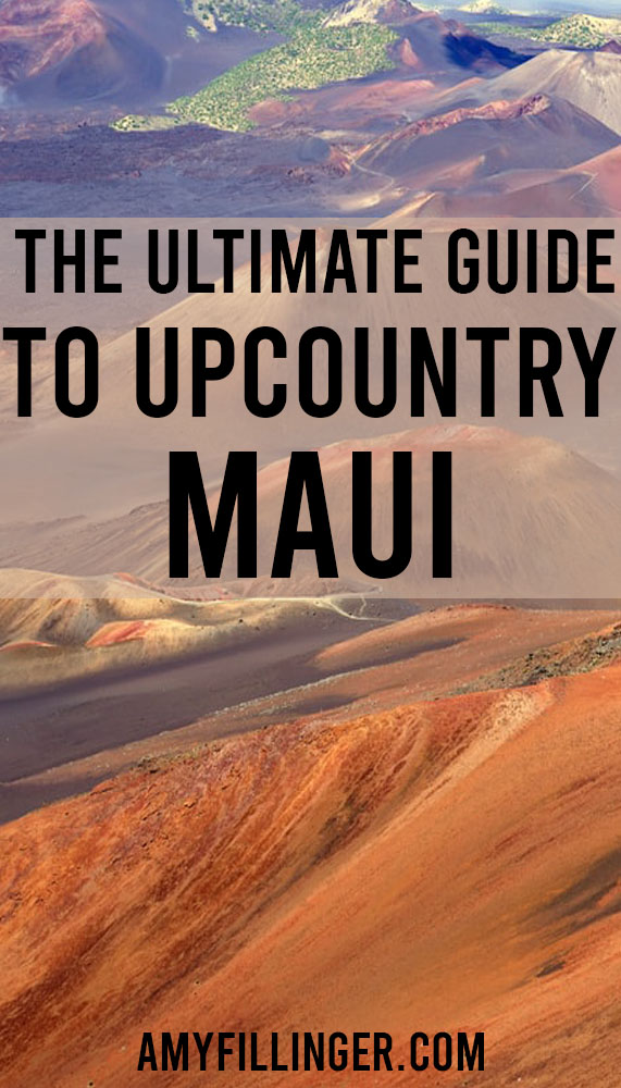 guide to upcountry Maui